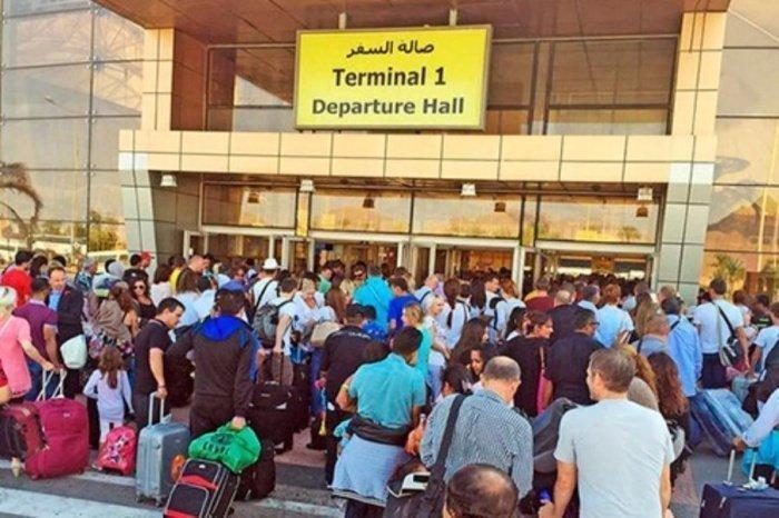 Вывоз россиян из Египта начнется 26 марта.