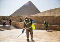 В Египте продезинфицировали пирамиды Гизы