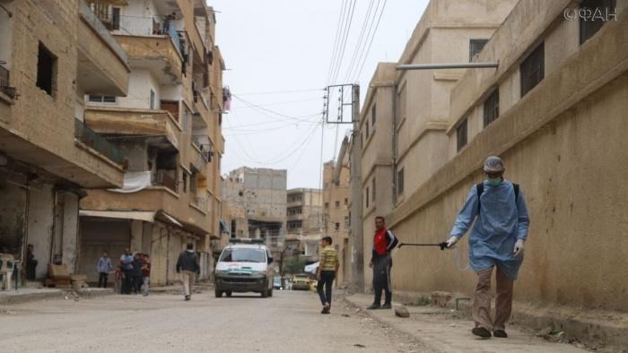 В Сирии выявлено 10 заразившихся коронавирусом.