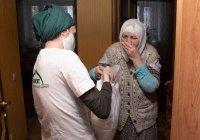 Пожилым казанцам доставили на дом продукты от БФ «Закят» ДУМ РТ