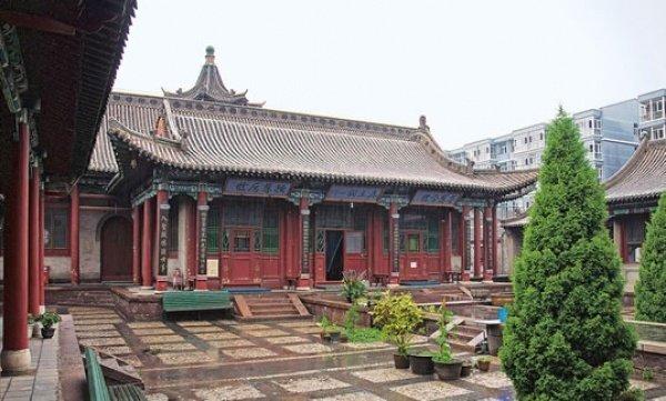 Мечеть Бэйгуань в Тяньшуй провинции Ганьсу (фото: muslimheritage.com)