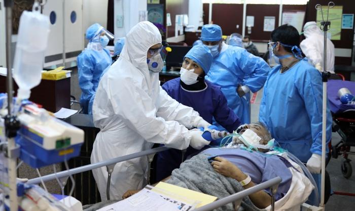 Минздрав Ирана сообщил о росте числа заразившихся коронавирусом.