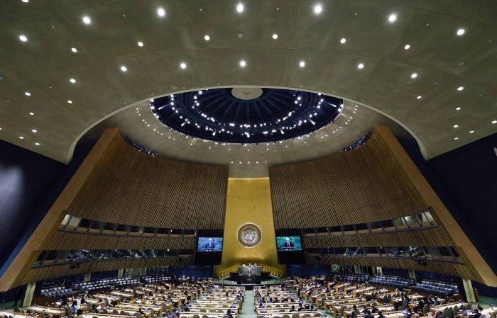 Генассамблея ООН приняла проект резолюции в связи с коронавирусом.