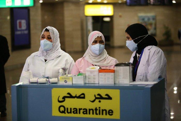 Число заразившихся коронавирусом резко возросло в Египте.