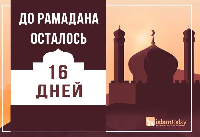 16 дней до Рамадана: 6 правил подготовки к священному месяцу