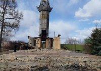 Сгоревшая в Ютазинском мухтасибате мечеть демонтирована для дальнейшего восстановления