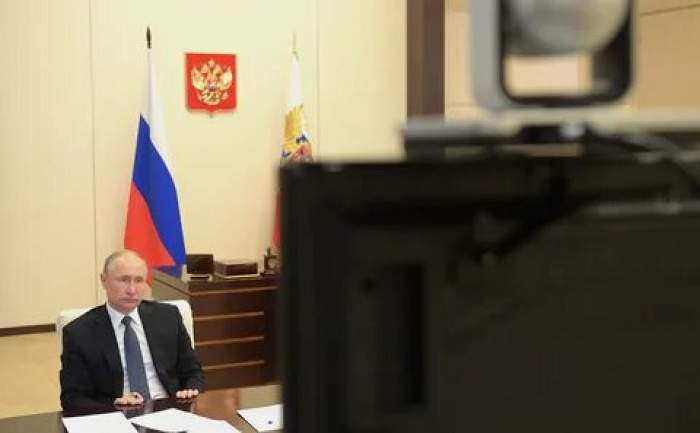 Президент России вновь выступил с обращением.