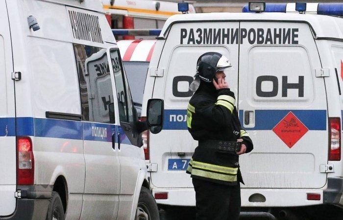В Москве - очередной всплеск телефонного терроризма.