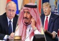 Путин провел телефонные переговоры с Трампом и королем Саудовской Аравии
