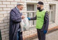 """Пожилые казанские имамы получили продовольственную помощь от БФ """"Закят"""""""
