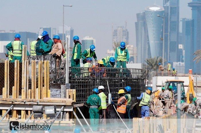 Мигранты Катара. (Источник фото: yandex.ru)
