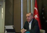 Эрдоган запретил жителям Турции выходить из дома в выходные