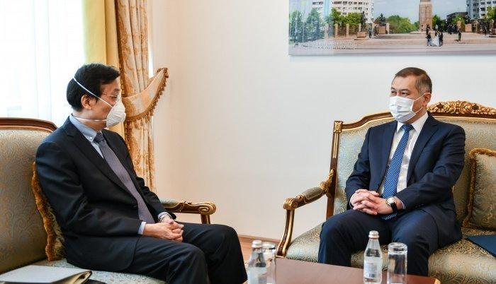 В МИД Казахстана состоялась встреча с Послом КНР.
