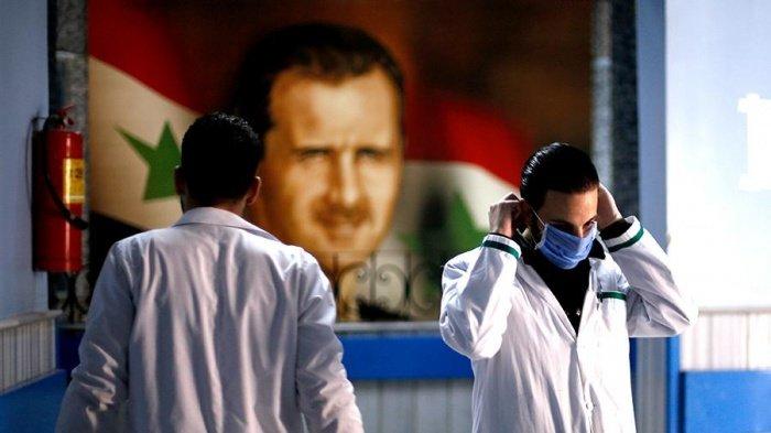 В Сирии - острая нехватка медицинского оборудования для борьбы с коронавирусом.