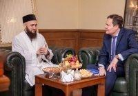 Муфтий Татарстана встретился главным федеральным инспектором по РТ