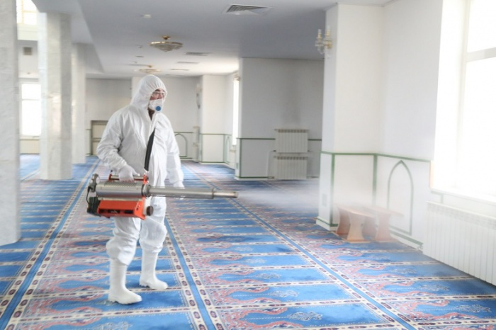 В ОАЭ мечети в Рамадан будут закрыты.