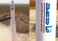 Иран  запустил в космос первый военный спутник