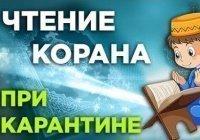 Чтение Корана в условиях карантина