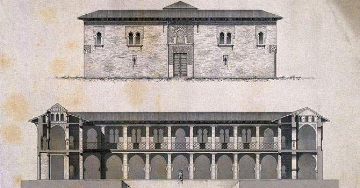 Реконструкция здания бимаристана Насрид в Гранаде. Современная Испания