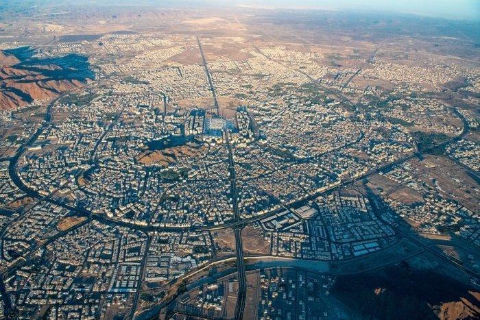 Медина во время пандемии с высоты птичьего полета (ФОТО)