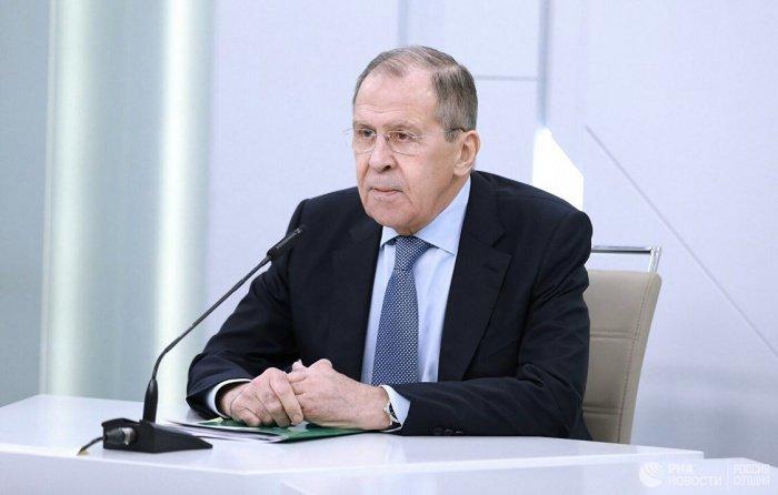 Сергей Лавров выступил с лекцией для студентов МГИМО.