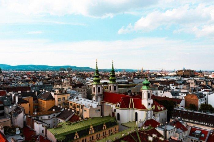 В Вене много парков и зон отдыха, удобный общественный транспорт