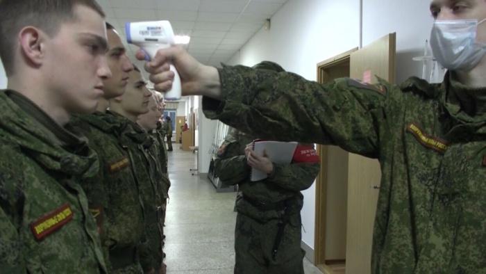 В Минобороны сообщили о ситуации с коронавирусом в армии.