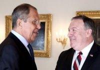 Лавров и Помпео обсудили коронавирус и глобальную безопасность