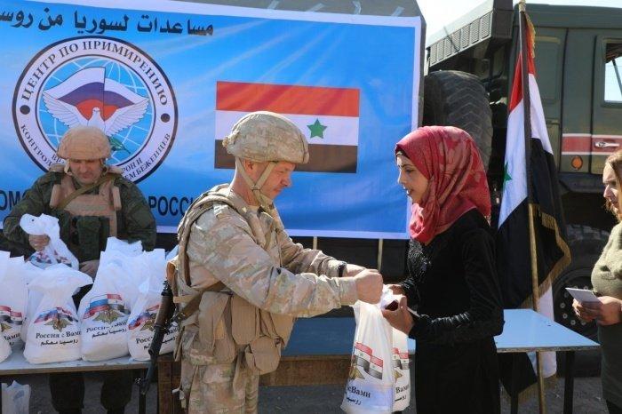 Очередная партия российской гуманитарной помощи доставлена в Сирию.