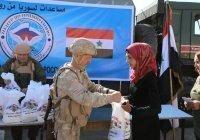 Россия доставила в Сирию 850 тонн гуманитарной помощи