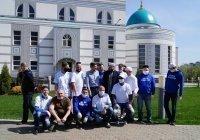 Муфтий Татарстана посетил мечеть «Ярдәм» и встретился с волонтерами проекта «Дорога жизни»