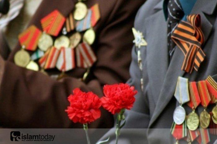 Мусульмане в годы Великой Отечественной войны. (Источник фото: yandex.ru)