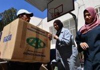 Сирийские семьи получили продовольственную помощь от фонда Кадырова