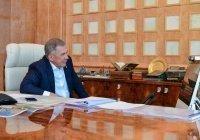 Минниханов обсудил с реставратором восстановление мечети в Рыбно-Слободском районе
