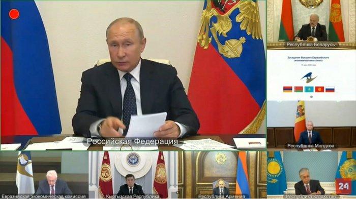 Владимир Путин принял участие в заседании Высшего евразийского экономического совета (ВЕЭС).