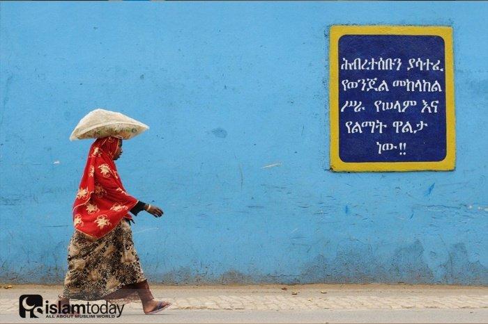 Город Харар в далекой Африке. (Источник фотографий: wikiway.com)