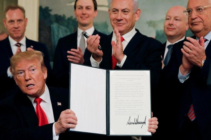 «Сделку века» президент США Дональд Трамп представил 28 января.