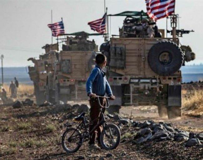 Телевидение Сирии сообщило о похищении местного жителя американскими военными.