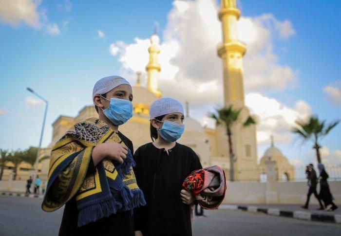 Ураза-байрам в Газе (фото: Zuma\TASS)