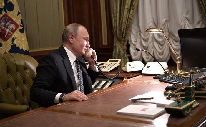 Владимир Путин провел переговоры с Мустафой Каземи.