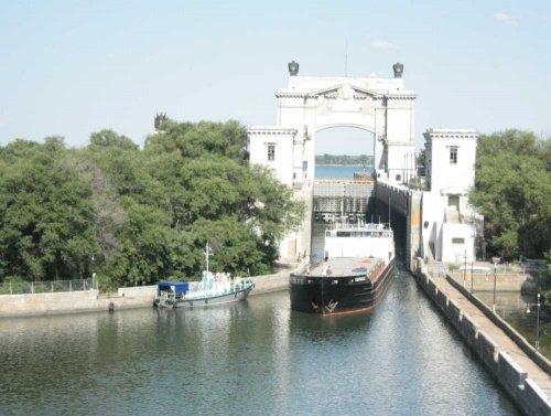 Современный Волго-Донский канал