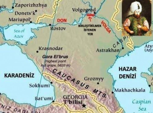 Турецкий проект Волго-Донского канала