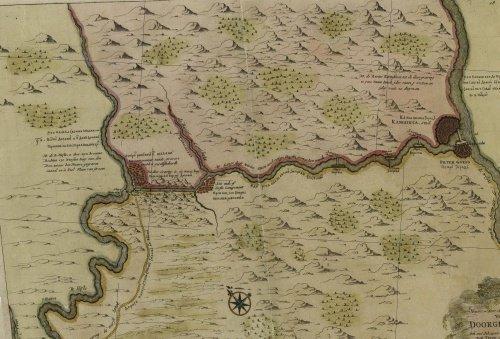 План постройки канала по соединению Волги с Доном петровского времени