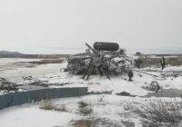 Вертолет Ми-8 разбился на Чукотке, весь экипаж погиб
