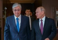 Путин и Токаев обсудили сотрудничество на евразийском пространстве