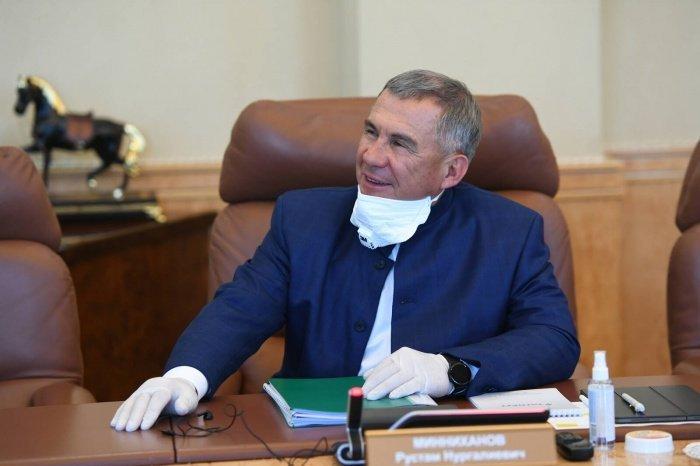 Рустам Минниханов примет участие в президентских выборах в сентябре.