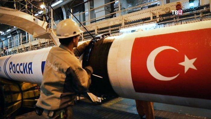 Поставки российского газа в Турцию сократились за последний год.
