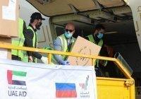 ОАЭ поставили Дагестану средства защиты и тесты на коронавирус