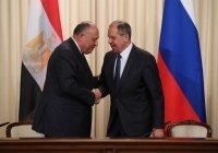 Лавров обсудил ближневосточное урегулирование с главой МИД Египта