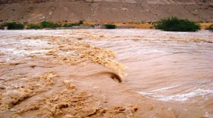 Наводнения и дожди в Йемене.